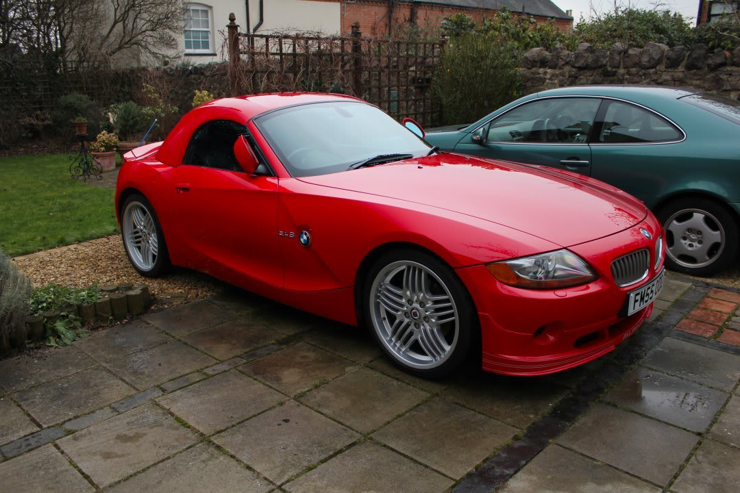 Now Sold Bmw Z4 Hardtop Red Folding Stand Cover