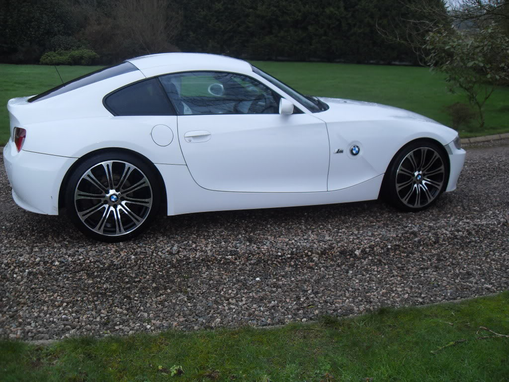 for sale alpine white bmw coupe z4 3 0 si sport 2008 z4. Black Bedroom Furniture Sets. Home Design Ideas