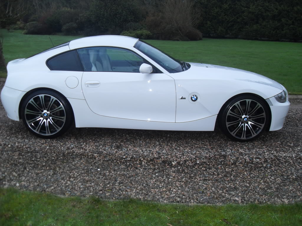 For Sale Alpine White Bmw Coupe Z4 3 0 Si Sport 2008