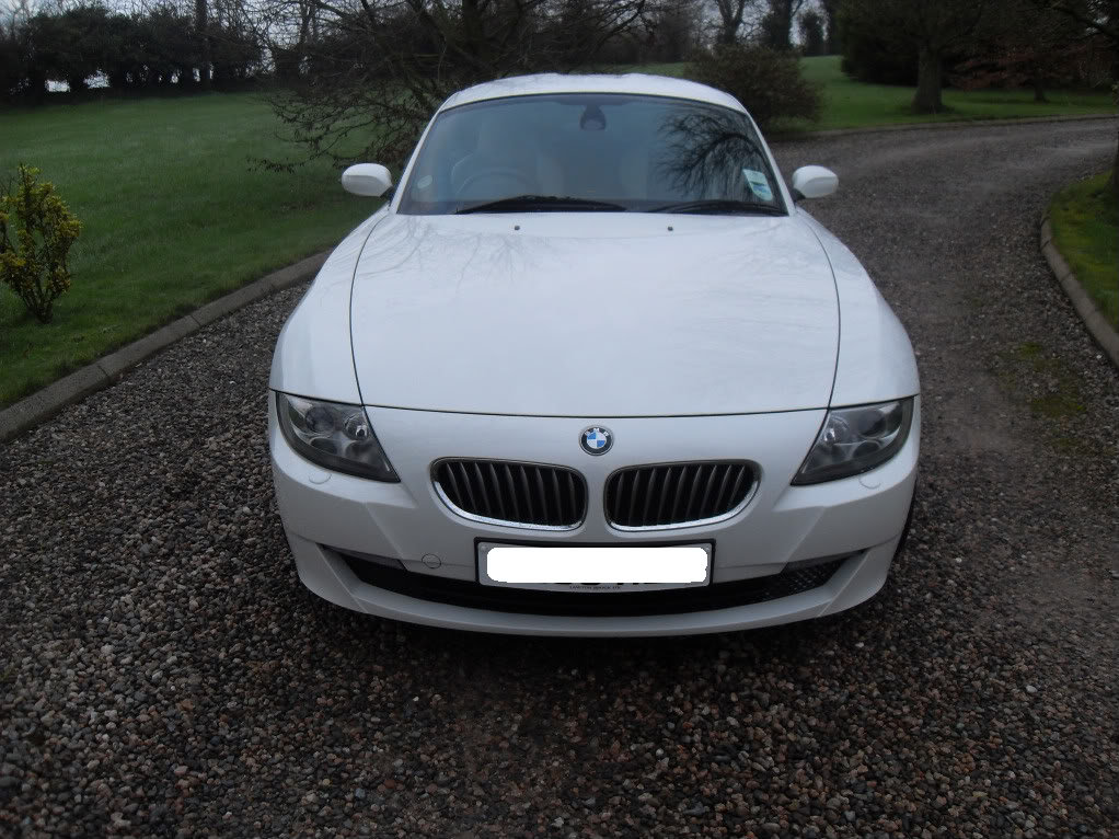 For Sale Alpine White Bmw Coupe Z4 3 0 Si Sport 2008