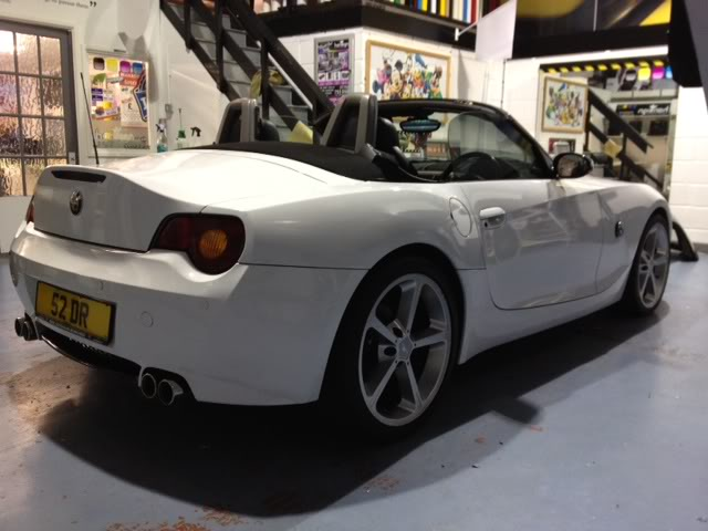 Full White Vinyl Wrap Pic Udate Page 4 Z4