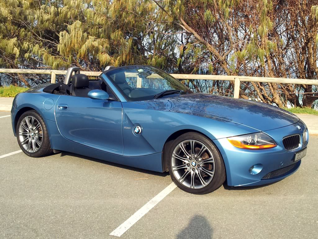 135m Wheels Shadow Chrome And Maldives Blue Page 4 Z4
