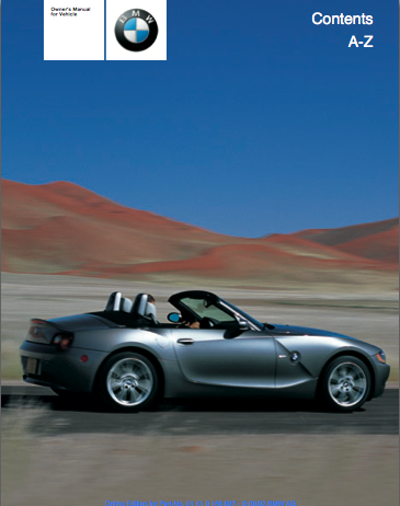 pdf owner s manuals retrofit instructions and links z4 forum com rh z4 forum com E85 Z4 Wing Toyota E85 Vehicles