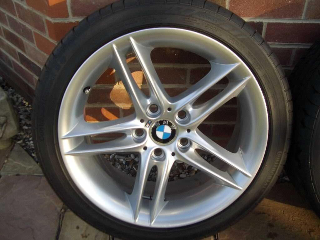 Original Bmw 18 Quot Z4m Alloy Wheels And Tyres Sold Z4
