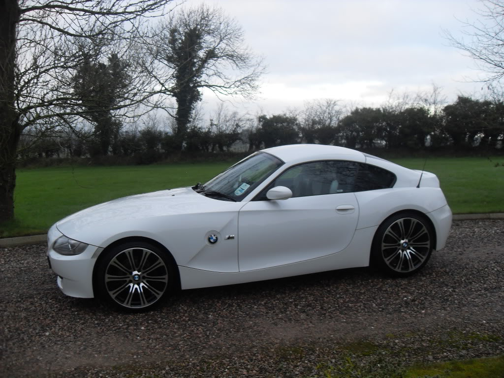 For Sale Alpine White Bmw Coupe Z4 3 0 Si Sport 2008 Z4 Forum Com
