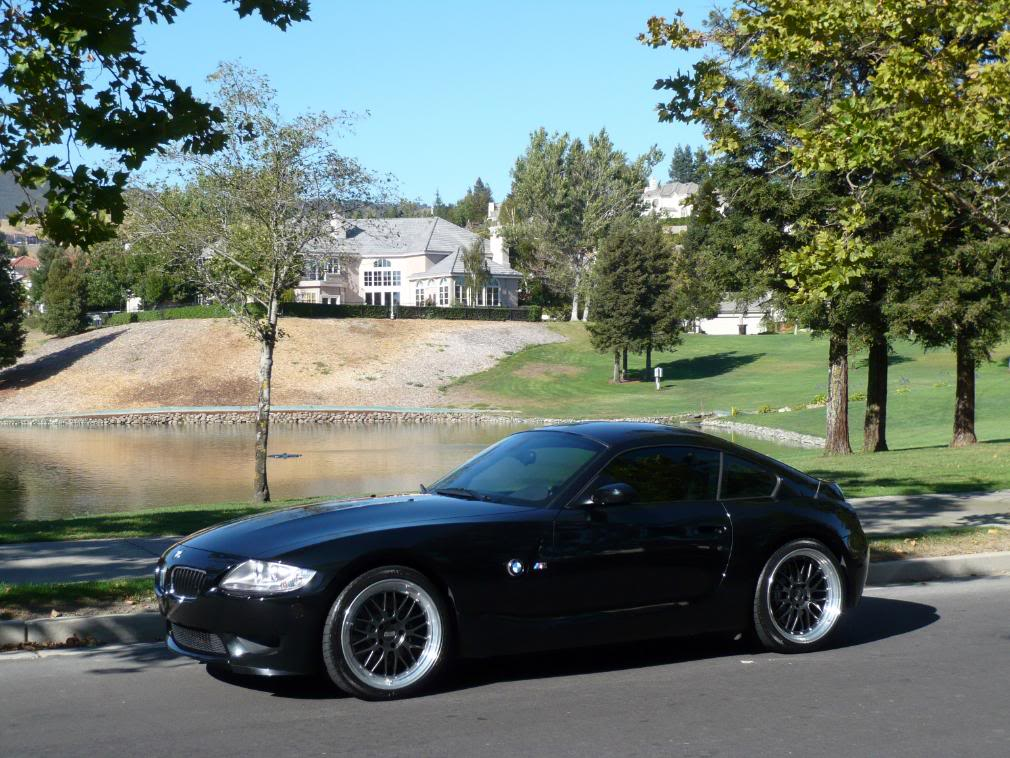 Pics Black Z4m Coupe W Custom Bbs Lm S And Bms Exhaust Z4 Forum Com