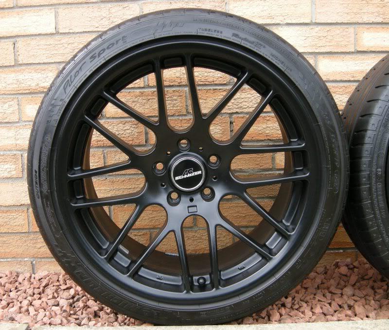 "Bmw Z4 Tyres: 19"" CSL ALLOYS With TYRES ""MATTE BLACK"" + Michelin & Conti"