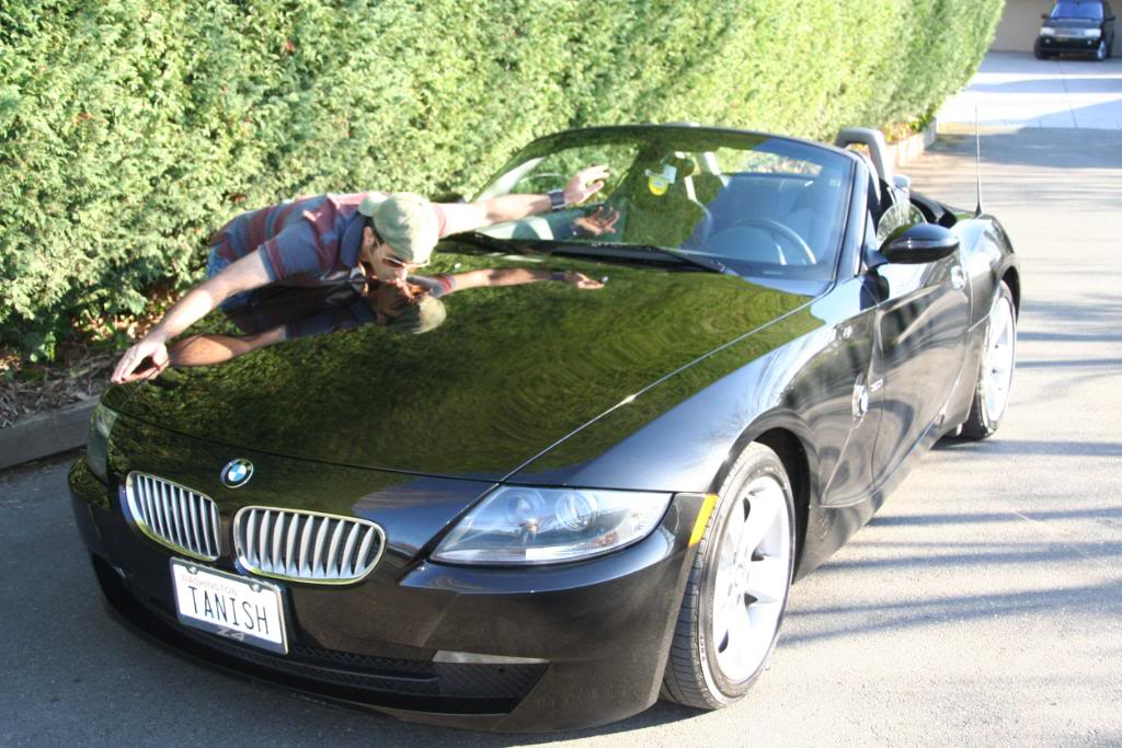 MY Black Z4 In Front Of Bill Gates House   Medina Part 57