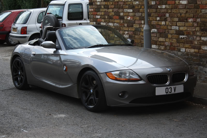 Changing The Colour On My Spare Set Of 107 S Z4 Forum Com