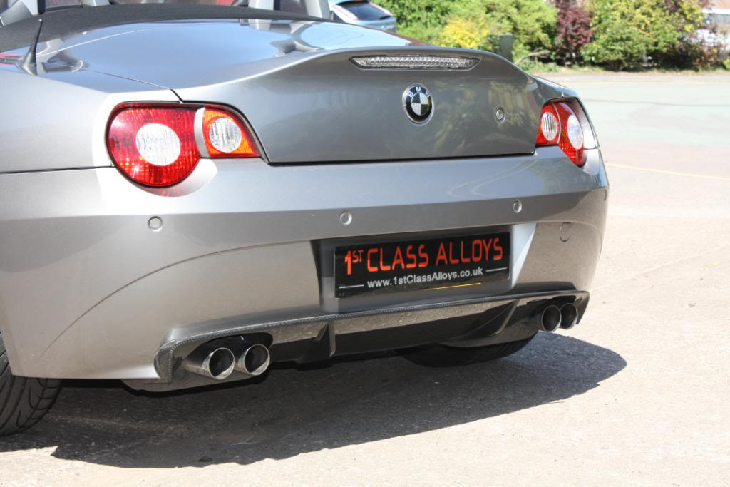 Can I Swap Aero Rear Apron For Oem Carbon Diffuser Z4 Forum Com