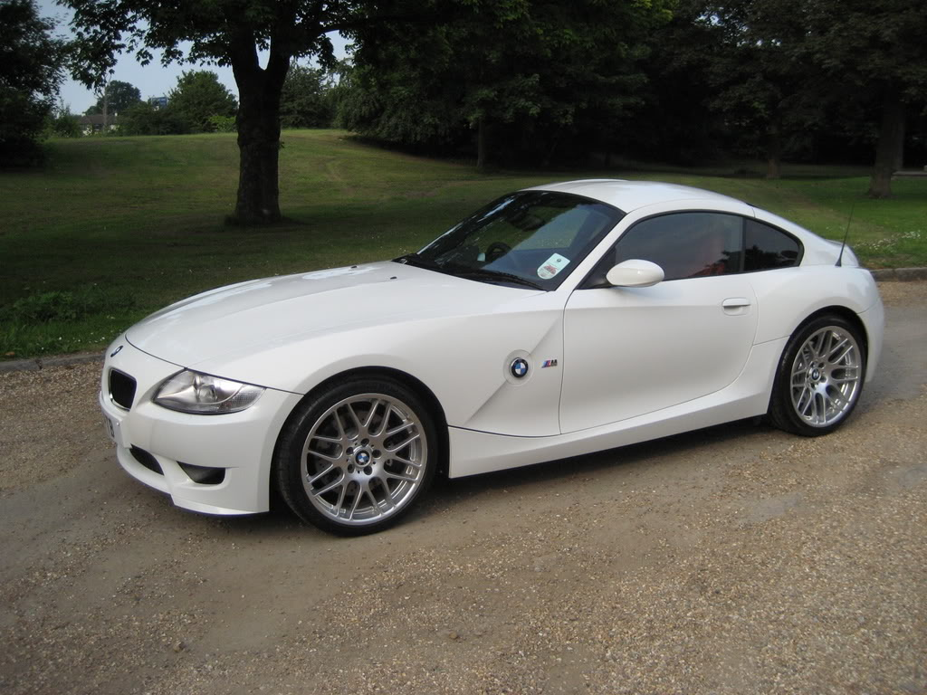 My Alpine White Z4m Coupe With Csls Z4 Forum Com